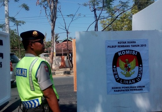48 TPS Pilkada Rembang Dipetakan Rawan Konflik