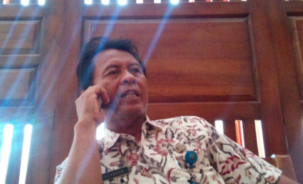 Kepala Pelaksana Harian BPBD Rembang Suharso. (Foto: Pujianto)