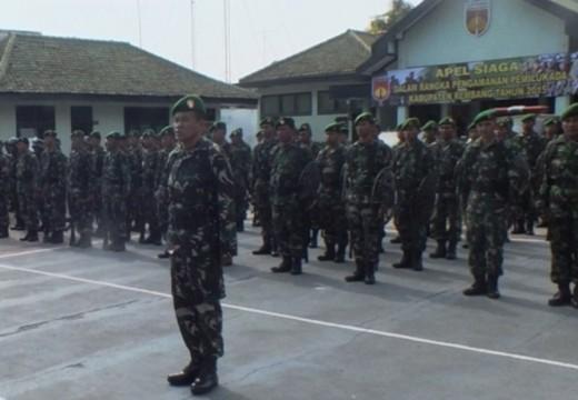 Amankan Pilkada, Kodim Rembang Siagakan 2 SSK