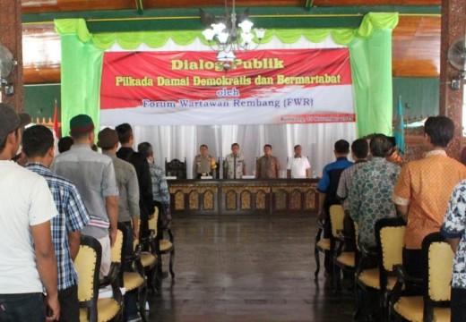 Dialog Publik Sorot KPU Soal Sosialisasi Pilkada