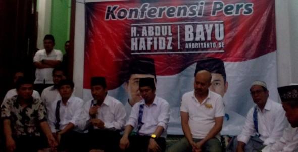Hafidz Klaim Sapu Bersih Kemenangan di Seluruh Kecamatan
