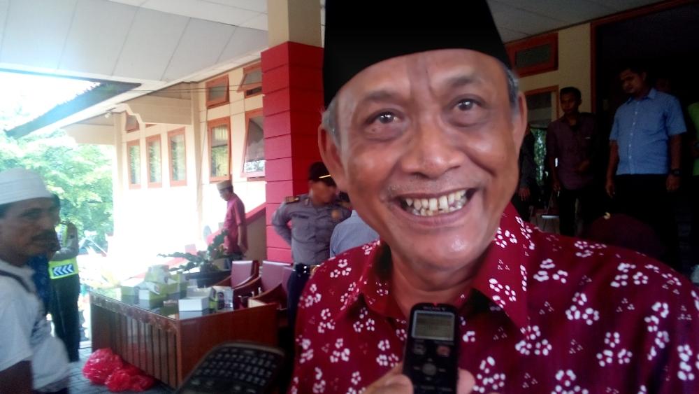 Ketua Serikat Pekerja Seluruh Indonesia (SPSI) Rembang, Jasmani. (Foto: Pujianto)