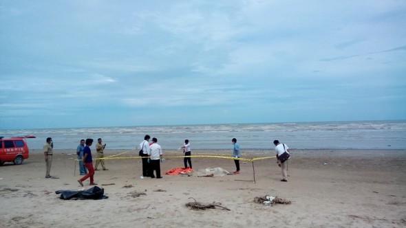 Petambak Temukan Mayat Terdampar di Pantai Caruban