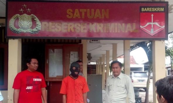 Maling Ponsel SPBU Dorokandang Komplotan Lintas Provinsi