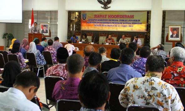 Rembang Ancang-ancang Serahkan SMA/SMK ke Provinsi