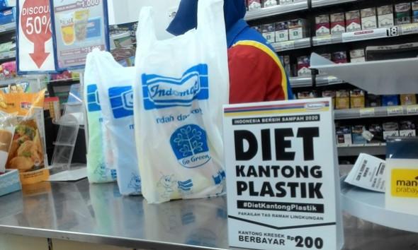 Diet Plastik, Toko Modern Rembang Disarankan Sedia Tas Kain