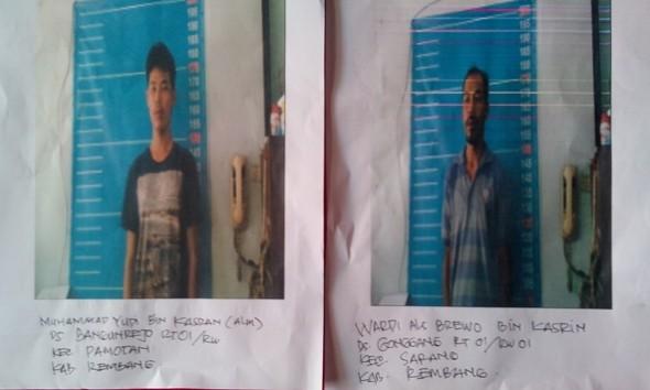 Bobol Pintu Penjara, Dua Tahanan Rutan Rembang Kabur