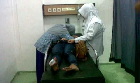 Tersenggol Nusantara, Perawat Terjatuh Hingga Tewas