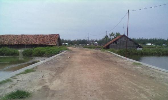Dikucuri Dana Provinsi, Akses Jalan Karangjahe Dilebarkan