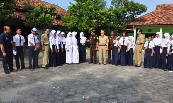 Jaksa Rembang Masuk Sekolah Suluh Bahaya Narkoba