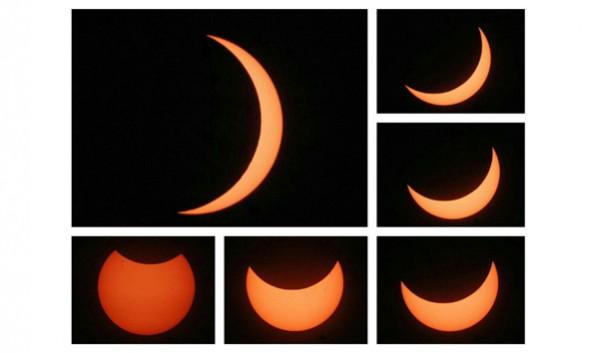 Gerhana Matahari Dilihat di Rembang hanya 80 Persen