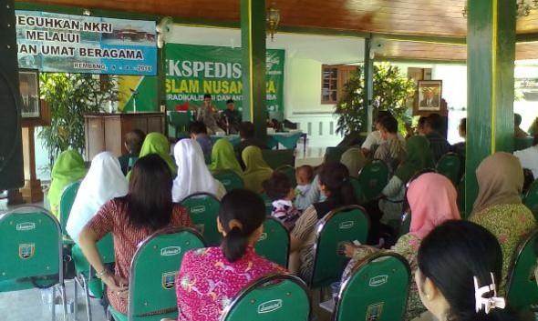 Ekspedisi Islam Nusantara Tebar Deradikalisasi di Rembang