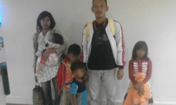 Satu Keluarga Lagi Eks Gafatar Dipulangkan di Karangturi