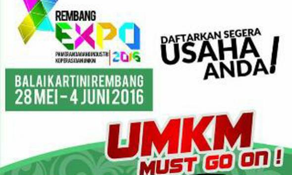 Usaha Kecil Peminat Rembang Expo 2016 Membeludak