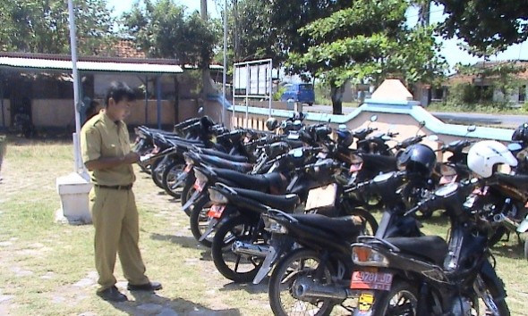 Kepala Desa di Rembang Ramai-ramai Ganti Motor Dinas
