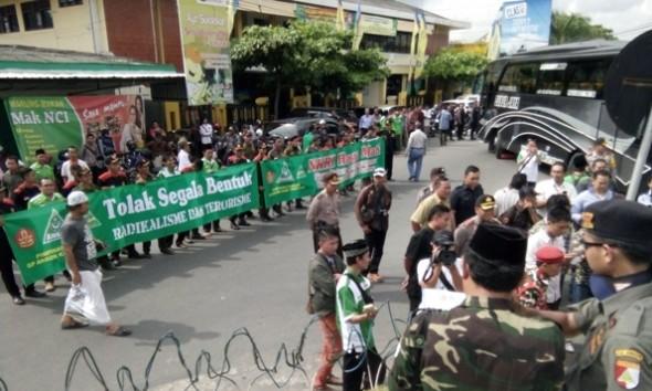Ansor-Banser bersama Pegiat di Rembang Melawan Radikalisme
