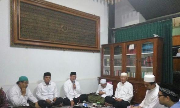 Takziah, Menteri Agama Terkesan Kesetiaan Almarhumah Istri Gus Mus