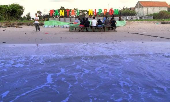 Pantai Nippon di Desa Kragan Kecamatan Kragan mencoba bersaing merebut hati para wisatawan dengan mengusung konsep pantai bersih. (Dokumentasi Pemuda Peduli Lingkungan Kragan)