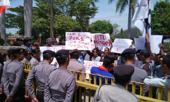 Kasus PLTU Intimidasi Wartawan, Dua Jurnalis Dianggap Tidak Solider