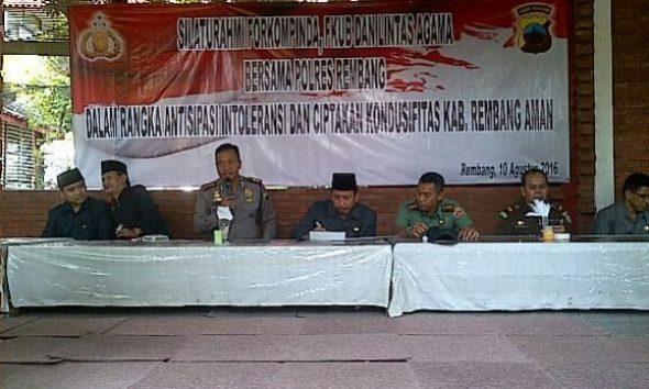Pimpinan Daerah Rembang Kumpul Antisipasi Kasus Klaten