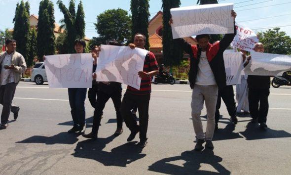 PWI Rembang Laporkan PLTU Sluke ke Polisi