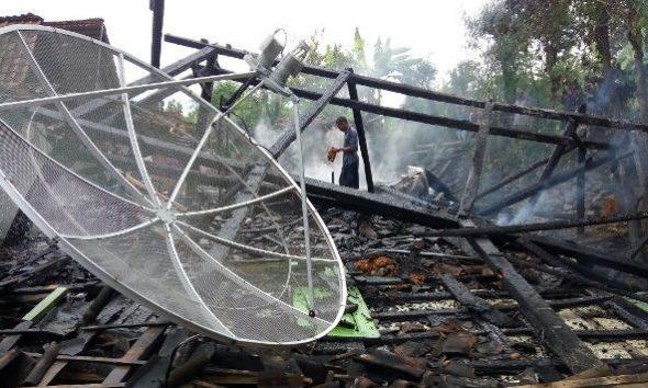 Rumah Ludes Gara-gara Lupa Matikan Api Kompor