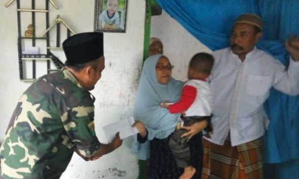 Ansor Rembang Santuni Keluarga Banser Korban Kecelakaan