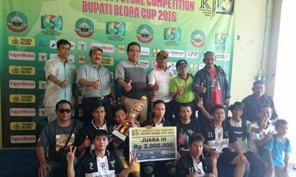 Tanpa Target, FWR Juara III Kompetisi Futsal
