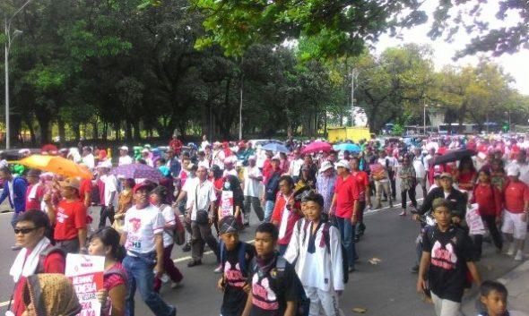 Kepala Desa di Rembang Ikut Bergerak di Jakarta