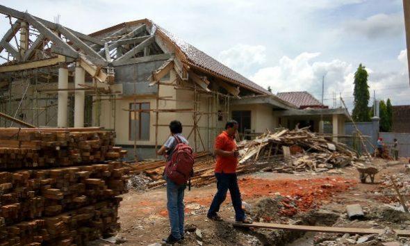 Penyelesaian Proyek Rumdin Bupati Molor, Pemkab Denda Rekanan