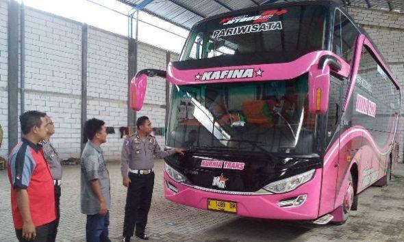 Perusahaan Otobus di Rembang Diinspeksi Menjelang Aksi 212