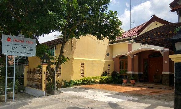 Salah satu homestay atau rumah wisata di Desa Ngemplak Kecamatan Lasem. (Foto: Mukhammad Fadlil)