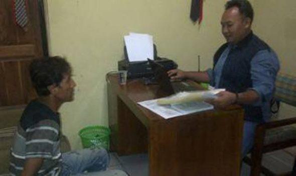 Diduga Setubuhi Siswi, Kuli Bangunan Digelandang Polisi