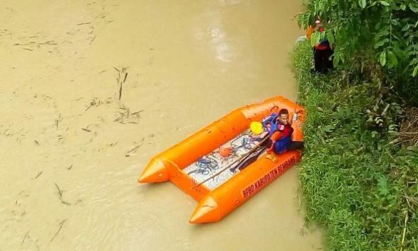 Pencarian Warga Hilang Terseret Arus Sungai Jeruk Dihentikan