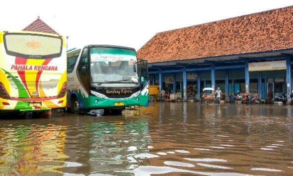 Terminal Lasem Kerap Kebanjiran di Musim Hujan