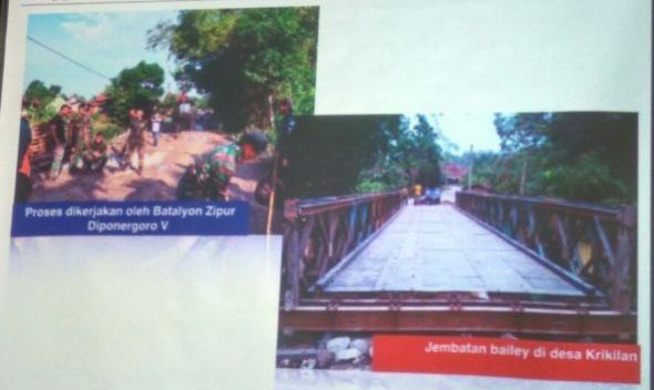 Jembatan Bailey Krikilan Segera Dibongkar