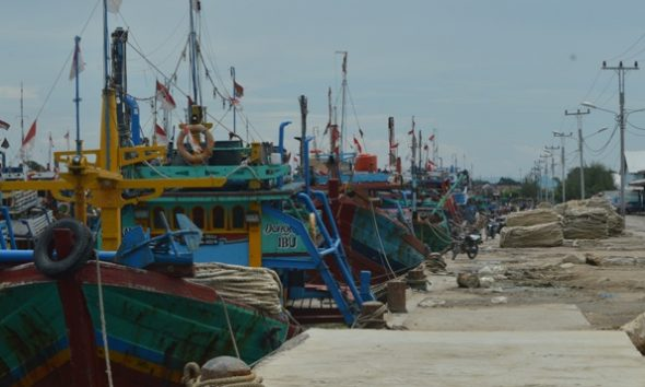 Ratusan Nelayan Cantrang Rembang sudah Tak Lagi Melaut