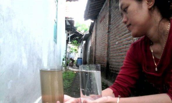 Mutu Air PDAM Dikeluhkan Pelanggan di Kaliori