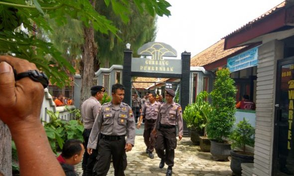 Rutan Rembang Digeledah Antisipasi Tahanan Kabur