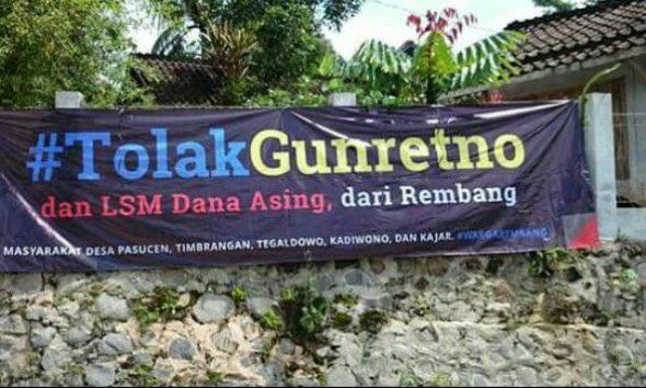 Joko Prianto Pertanyakan Penolakan terhadap Gunretno di Rembang