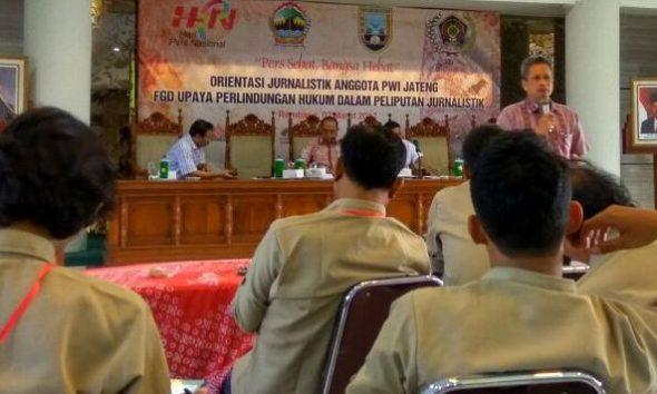 Orientasi Jurnalistik Ungkap Keluhan atas Perilaku Wartawan