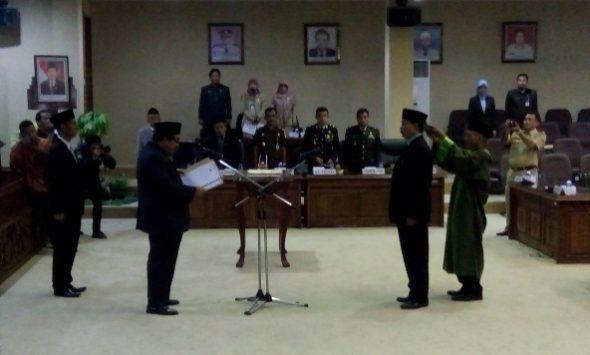 Dilantik sebagai Pengganti Antarwaktu, Subawoto Masuk Komisi A