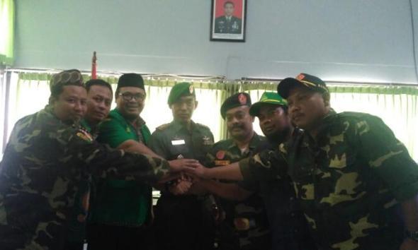 Ansor-Polres-Kodim Sepakat Jaga Rembang dari Gerakan Anti-NKRI