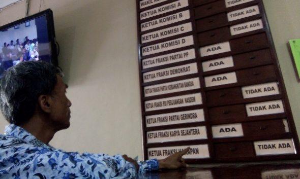 Bupati Sampaikan LKPj, PDIP dan Gerindra Absen