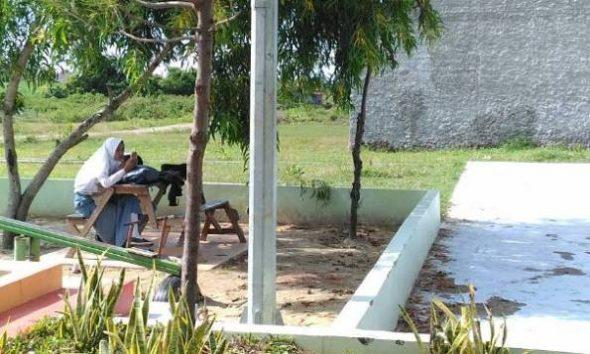Taman Kota Jadi Ajang Mesum Resahkan Warga