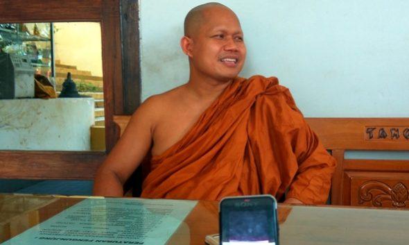 Sikapi Intoleran, Tokoh Buddha Rembang Sampaikan Pesan Perdamaian