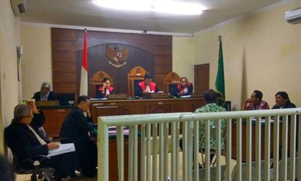 Sidang Kasus Kekerasan Wartawan, Tiga Saksi Mangkir
