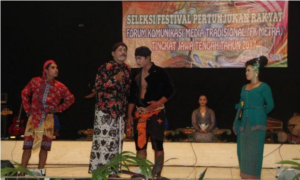 Cerita Rakyat Kuangsan Tembus Final Festival Pertunjukan