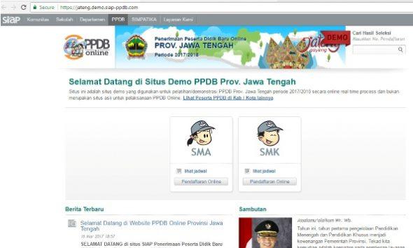 Aplikasi PPDB Online Dikhawatirkan Bermasalah