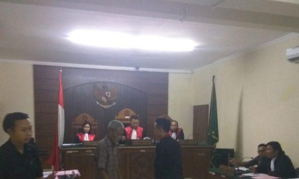 Sempat Mangkir, Dua Saksi Wartawan Hadir